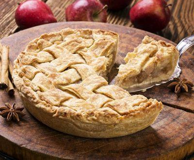 Pie crust photo.