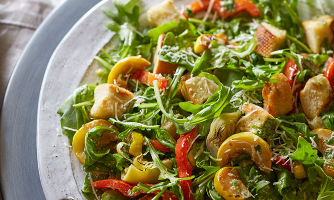 grilled-vegetable-panzanella-salad
