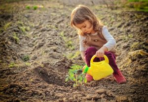 This spring, encourage your kids to join you in the garden!