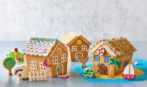 Summer Cookie Houses