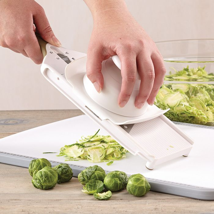 Shave Brussels Sprouts With a Simple Slicer