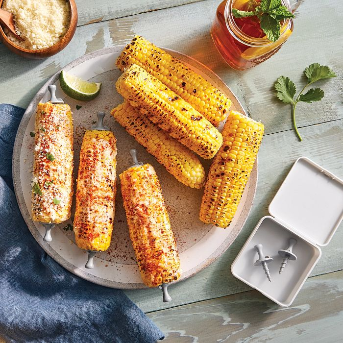 Grilled Corn and Corn Holders