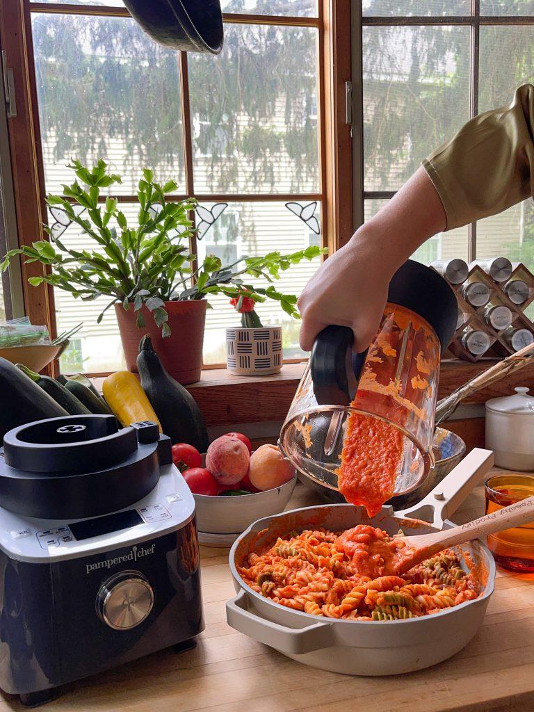 hidden veggie pasta sauce